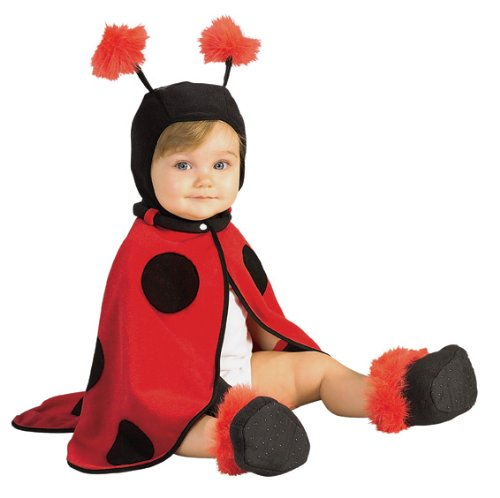 Caped Cuties, Lil Ladybug Infant (Old Lady Costume For Toddler)