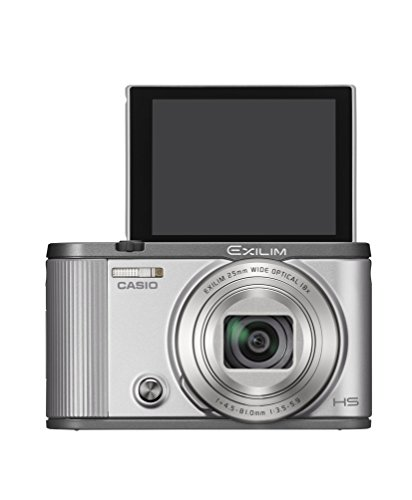 CASIO digital camera EXILIM EX-ZR1700SR (self-portrait tilt LCD auto transfer function Wi-Fi / Bluetooth installed) (Silver)