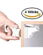 BETENSE Baby Sicherheit Magnetisches Schrankschloss |18 Schlösser mit 3 Schlüssel | Unsichtbare Kindersicherung | Schrankschloss & Schubladensicherung Magnet | Ohne Bohren und Schrauben