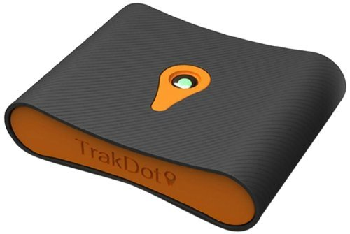 trakdot-luggage-tracker-black-orange-one-size
