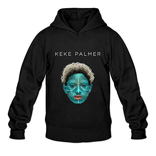Men's Keke Palmer I Poster Sweater Size S Black ()