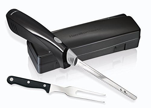 electric carving knife hamilton 74378r electric knife amp fork carving set 31650