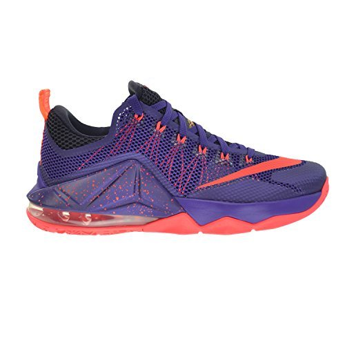 best website fafb0 dda93 Nike Lebron XII Low Mens Shoes Court Purple Bright Crimson-Purple-Laser  Orange 724557-565  Buy Online at Low Prices in India - Amazon.in