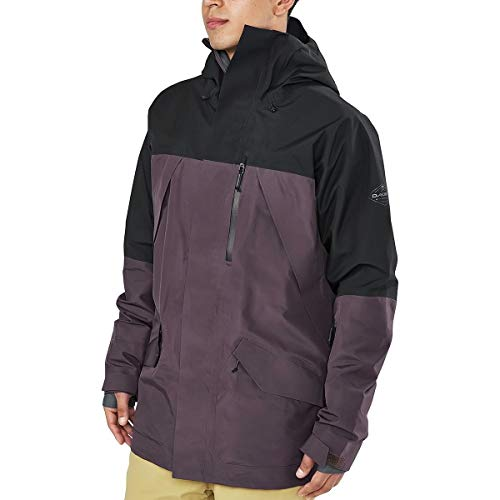 Dakine Men's Sawtooth Gore-Tex 3L Jacket, Amthyst, Black, M