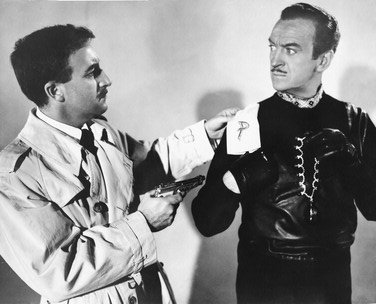 3e6bf85a3450 DAVID NIVEN AS SIR CHARLES LYTTON, PETER SELLERS AS INSP. JACQUES CLOUSEAU  FROM THE