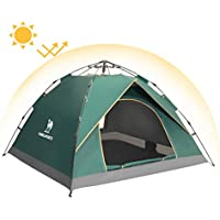 Camel 2-3 Person Family Automatic Hydraulic Tent Instant...