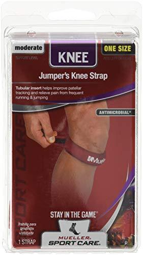 Mueller Jumper's Knee Strap Red