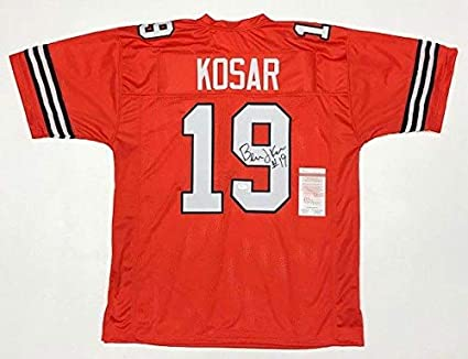 check out 127d9 490f6 Autographed Bernie Kosar Jersey - WITNESSED COA #WP966749 ...