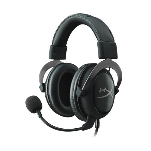 HyperX Cloud II Gaming Headset - 7.1 Surround Sound - Memory Foam Ear Pads - Durable Aluminum Frame - Works with PC, PS4, PS4 PRO, Xbox One, Xbox One S - Gun Metal (KHX-HSCP-GM) from HyperX