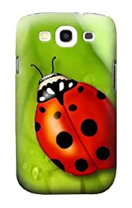 S0892 Ladybug Case Cover for Samsung Galaxy S3