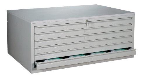 Zeichnungsschrank DIN A1 Flachablageschrank Grafikschrank Planschrank Architektenschrank 6 Schubladen Stahl 565110