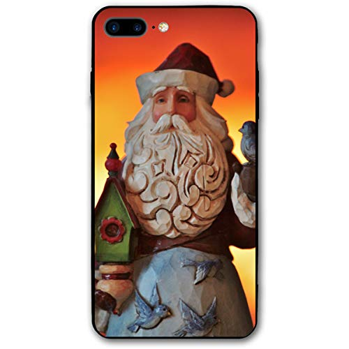 - Cute Christmas Santa Claus Holding A Birdhouse Iphone 8 Plus Case, IPhone 7 Plus Case, Ultra Thin Lightweight Cover Shell, Anti Scratch Durable, Shock Absorb Bumper Environmental Protection Case Cover