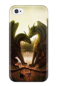 Iphone 4/4s Case Bumper Tpu Skin Cover For Dragon Accessories