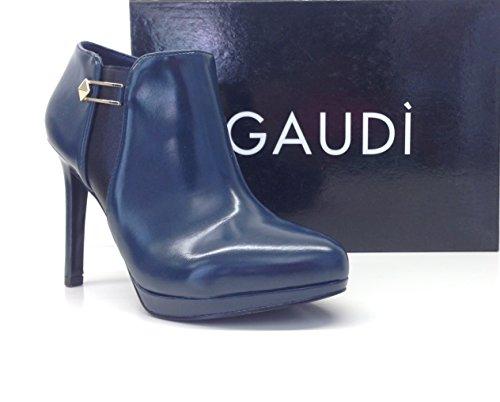 Gaudì - Zapatos de vestir de Piel sintética para mujer azul Avio