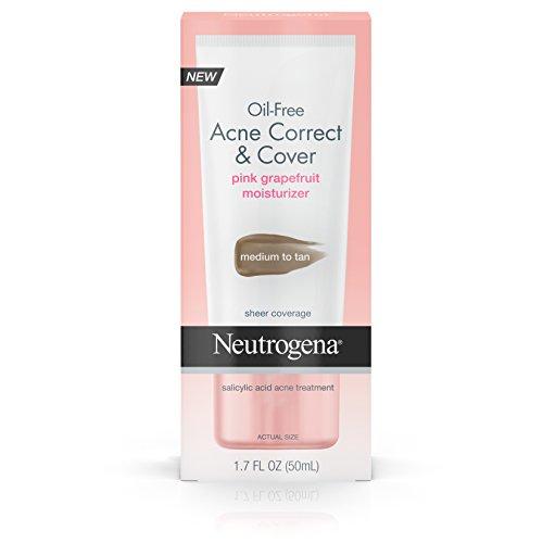 Neutrogena Acne Correct & Cover Pink Grapefruit Moisturizer