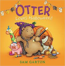 Otter Loves Halloween Paperback and Audio CD ()