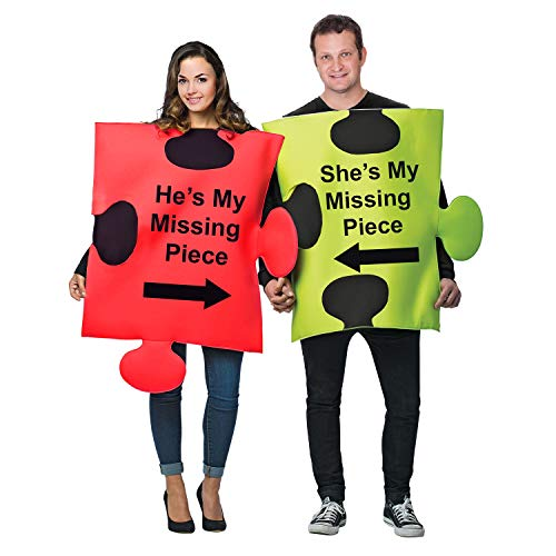 Creative And Unique Halloween Costumes (Tigerdoe Puzzle Piece Costume - Halloween Couple Costumes - Funny Adult Costumes - Novelty Costumes)
