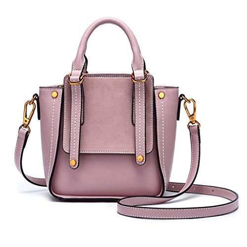 simple couleurs pour Sélection de Sac en plusieurs main à Sac à Pink PU femme bandoulière Sac bandoulière à Sac xfwTCnO