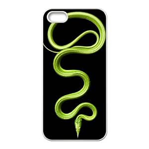 Cool Painting Snake Unique Design Cover Case for Iphone 5,5S,custom case cover case533185