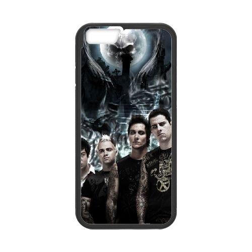 Avenged Sevenfold coque iPhone 6 4.7 Inch Housse téléphone Noir de couverture de cas coque EBDOBCKCO12917