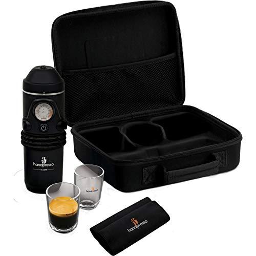 Handpresso Hybrid Auto Set, 140 W, 16 Bar, Black