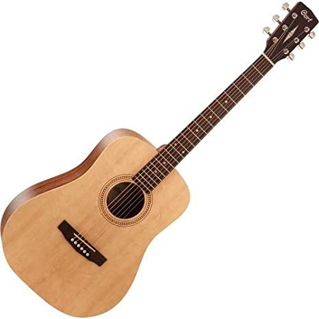 Cort Earth 50 Open Pore Natural Western Guitarra: Amazon.es ...