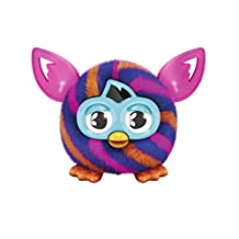 Furby Furbling Critter (Orange and Blue Diagonal Stripes)