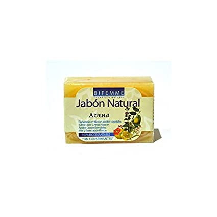 Jabón natural de avena