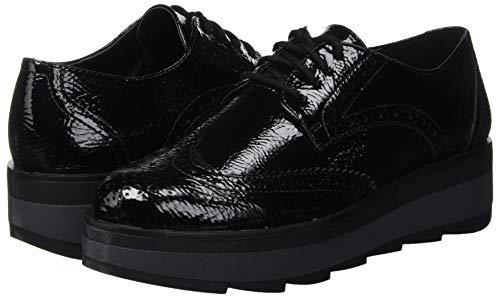 Lumberjack Zapatos Cb001 Para Mujer Brogue Evelyn Nero De Cordones black 5rwqx5aP