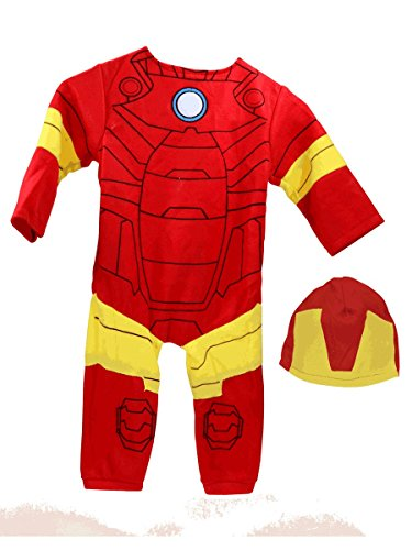 Avengers Toddler Boys' Iron Man Costume [620011]