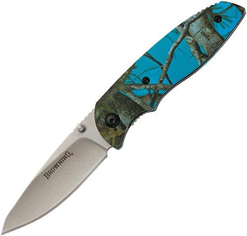 Browning 3220252 3220252 EDC Folder Knife, Blue Camouflage