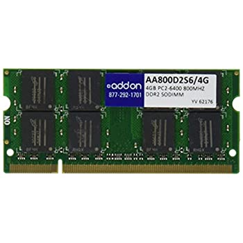 Image of Memory Addon-Memory 4 GB DDR2 800 (PC2 6400) RAM AA800D2S6/4G