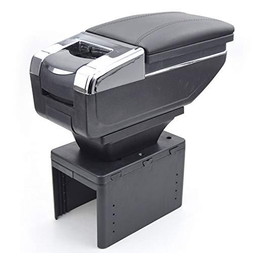 QCFSXWDDX Para la Caja del reposabrazos de Seat Leon USB ...