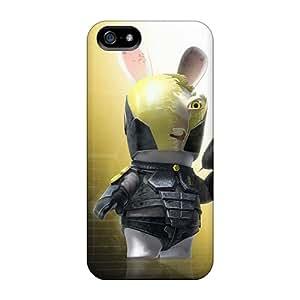 RjJcMDZ3312NPtBd Tpu Case Skin Protector For Iphone 5/5s Lapin Cretin Killer With Nice Appearance