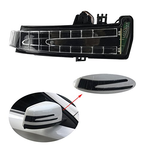 - Right Door Mirror Turn Signal Marker Lamp for Mercedes-Benz W212 E W204 C W221 S