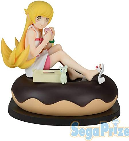 Bakemonogatari Shinobu Oshino /& Mayoi Hachikuj Donut LPM Prize Figure SET 2 PCS