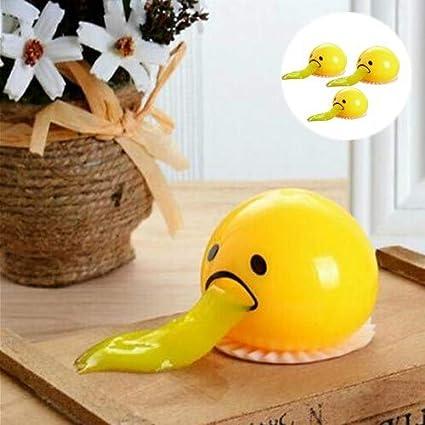 Vomiting Sucking Egg Yolk Toys Anti stress Funny Novelty Gag Tricky Joke Gifts