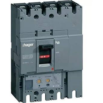 Hager Sistemas HND631H Interruptor Automático de Caja Moldeada H630, 4P4D, 50Ka, 630A, Lsi: Amazon.es: Industria, empresas y ciencia