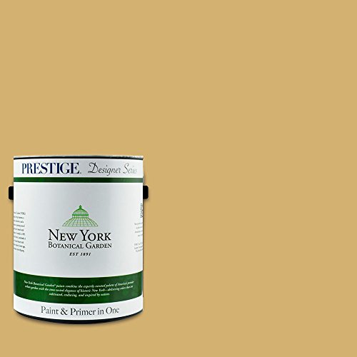 New York Botanical Gardens, Tropical Escape Collection, Interior Paint and Primer In One, 1-Gallon, Flat, Rattan (Paint Rattan)