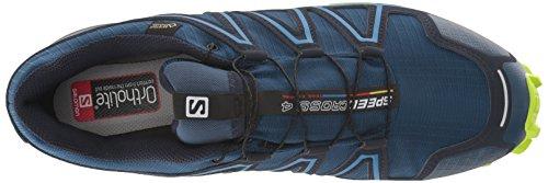 Blazer navy Da Scarpe Trail Green Salomon lime Uomo Running poseidon Azzurro Speedcross 4 qz6FnvWUO