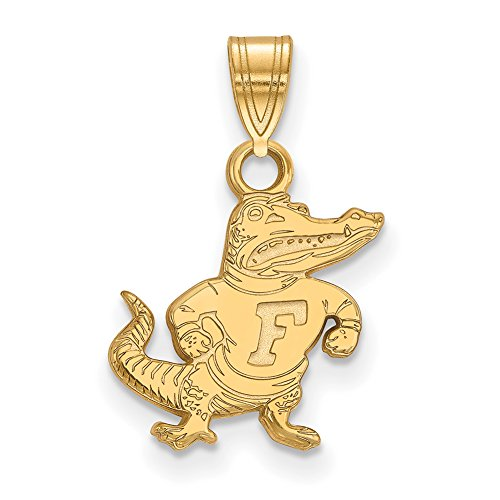 Florida Small (1/2 Inch) Pendant (14k Yellow Gold) by LogoArt