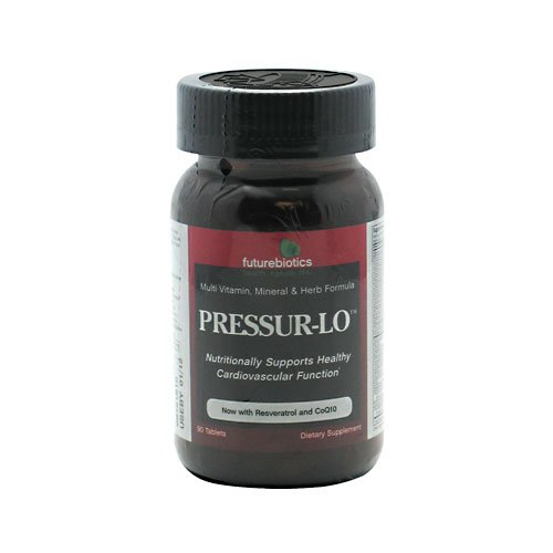 Futurebiotics Pressur-Lo -- 90 Tablets