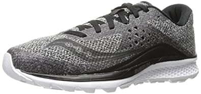 Saucony Women's Kinvara 8 Lr Running Shoe, Maru/Black, 5 M US