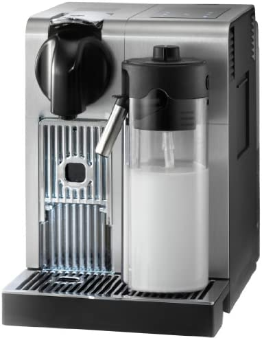 De Longhi America, Inc. EN750MB Lattissima Pro Original Espresso Machine with Milk Frother by De Longhi, 10.8 L x 7.6 W x 13 H, Brushed Aluminum
