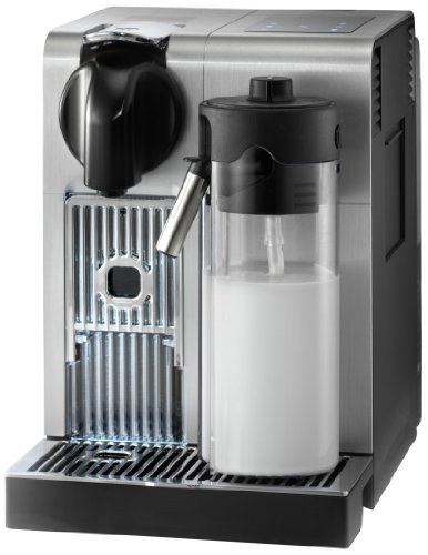 De'Longhi America, Inc. EN750MB Lattissima Pro Original Espresso Machine with Milk Frother, 10.8' L x 7.6' W x 13' H, Brushed Aluminum
