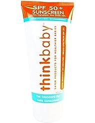 Thinkbaby Safe Sunscreen SPF 50+, 6 Fl Oz