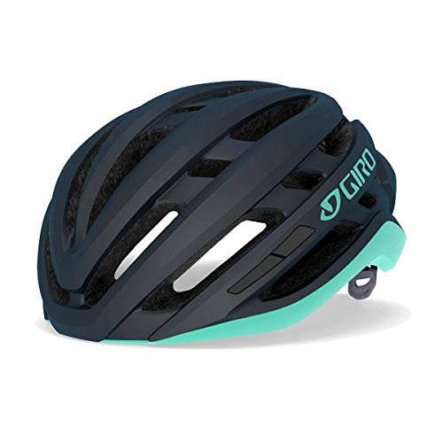 Giro Agilis W fietshelm Road, mat midnight/cool breeze, S   51-55 cm