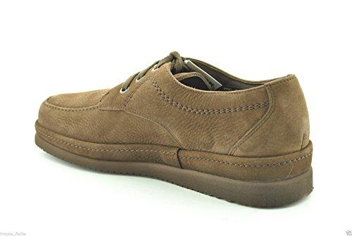 Mephisto - Zapatos de cordones para hombre Marrón Marrone scuro