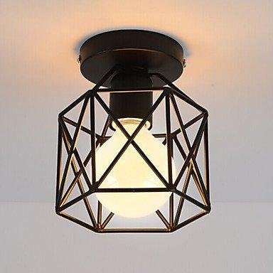 CNMKLM Loft Vintage simple mini Lámpara de techo Montaje empotrado luces pasillo de entrada Sala de juegos cocina apliques , 220-240 V