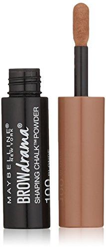 Maybelline Brow Drama Shaping Chalk Powder, Blonde, 0.035 fl. oz.